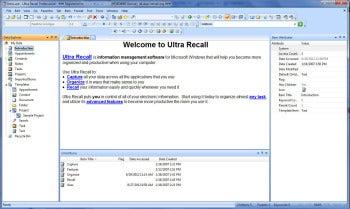 Ultra Recall Standard 5.0 screenshot