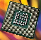 Intel's Pentium 4 (Prescott) runs at speeds of 2.8 to 3.4 GHz.