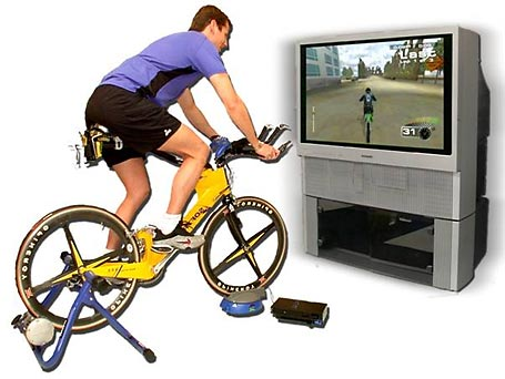 Bike Video Game Healthy and video game aren t