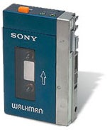 Sony walkman circa 1979