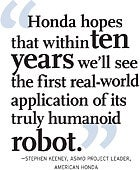 Stephen Keeney, ASIMO Project Leader, American Honda