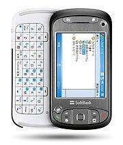 The Softbank X01HT PDA phone
