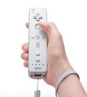 The Nintendo Wii controller