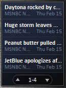 Vista's Feed Headlines
