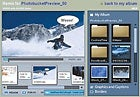 Photobucket preview of Web-based Photoshop.