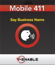V-Enable's Mobile411 service.