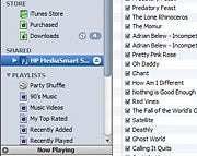 MediaSmart's iTunes access.