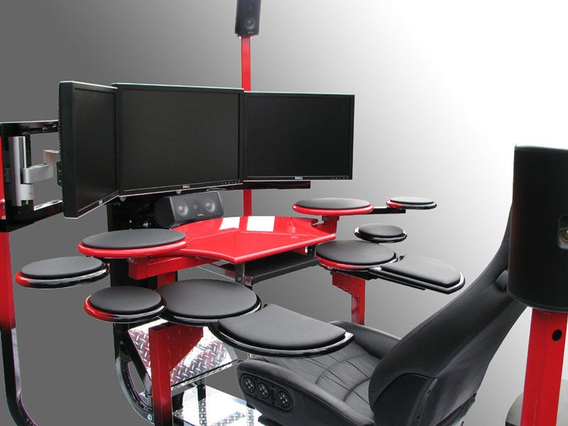 Unusual Computer Desks weird and wonderful computer furniture | pcworld