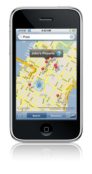 Iphone route tracker app