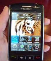 BlackBerry Storm home screen