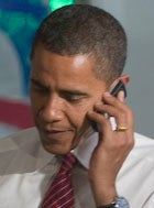 obama, blackberry, security