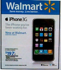iphone, apple, walmart, bargain, shopping