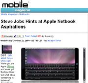 Apple netbook?