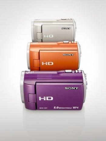 Sony MHS-CM1 Webbie HD camcorder