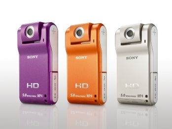 Sony MHS-PM1 Webbie HD camcorder