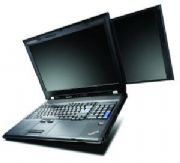 Lenovo w700ds dual-screen laptop
