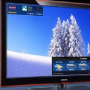 Yahoo widgets on TV