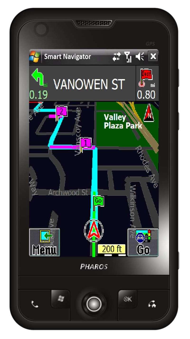 Pharos Traveler 137: GPS Smart Phone Offers Navigation, No ...
