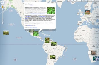 interactive mindblowing google map