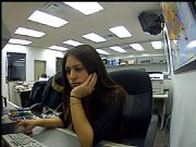Mandy's Cubicle Webcam