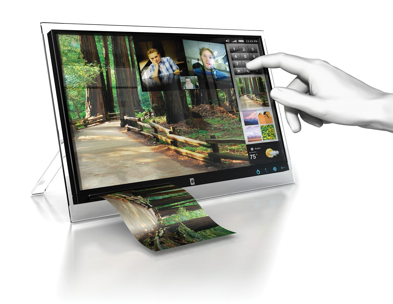 A digital photo frame that goes beyond image pcworld jeuxipadfo Gallery