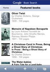 Google Book Search Goes Mobile
