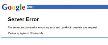 gmail service outage imagae can you rely on google?