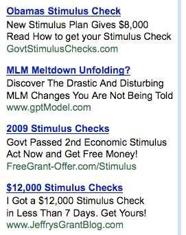 Stimulus refund payment schedule