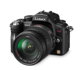 Panasonic Lumx GH1 slant view
