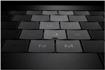 Dell Adamo keyboard