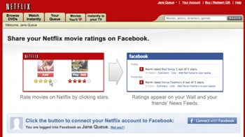 Netflix Ratings Come to Facebook | PCWorld
