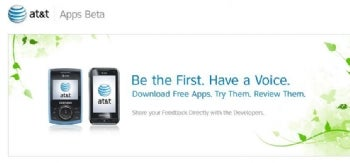 AT&T Apps Beta site