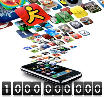 Apple Hits 1 Billion App Store Downloads