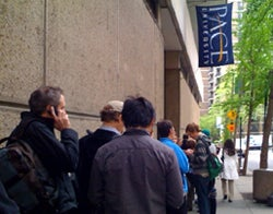 Line for the DX announcement.