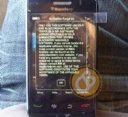 Rumored next-gen BlackBerry Storm