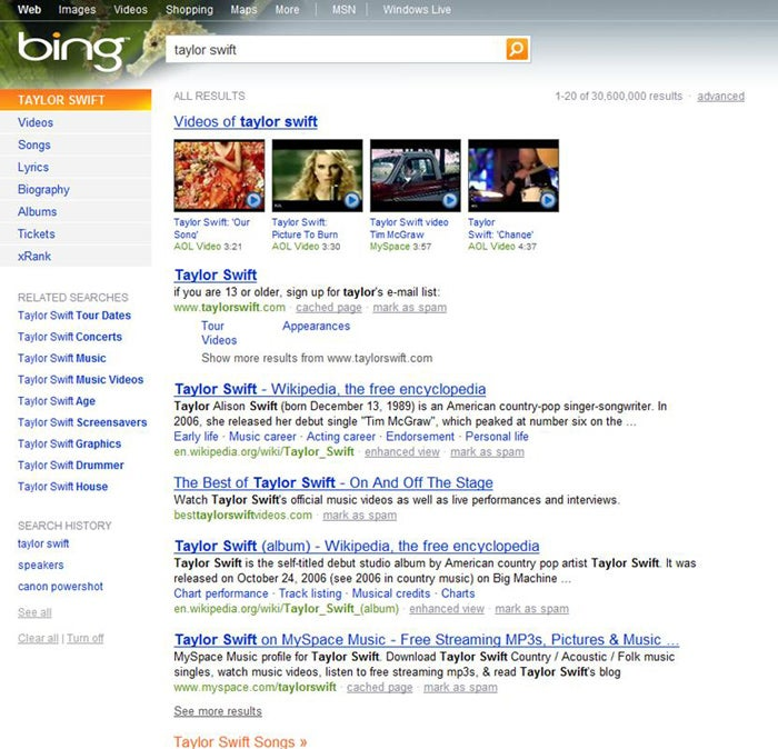 Hands on with bing microsoft s new search engine pcworld