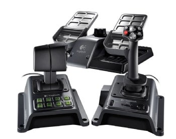Saitek ps41 aviator joystick for use with pc or xbox 360 game.
