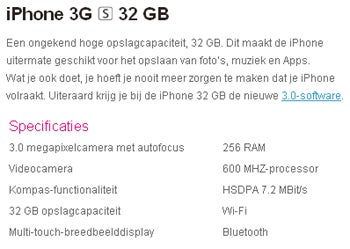 Whoops! iPhone 3G S Specs Leaked Online