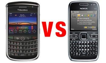 BlackBerry Tour vs Nokia E72: The Battle For Business   PCWorld