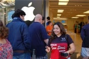 apple iphone 3gs launch