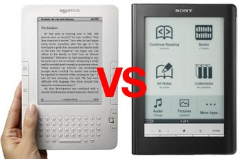 Amazon Kindle vs. New Sony Readers: Game On!