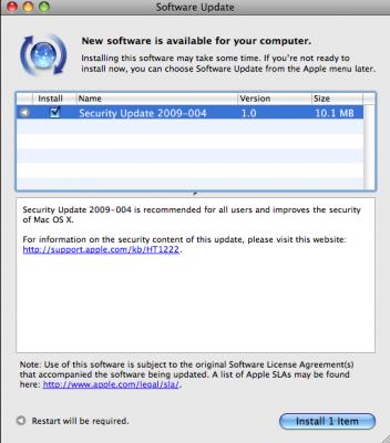Security Update Fixes Apple Vulnerability | PCWorld