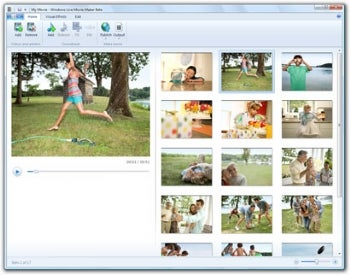 Windows Live Movie Maker: Slideshows for the Simpleton