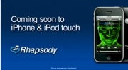 Rhapsody Music Service Headed for iPhone