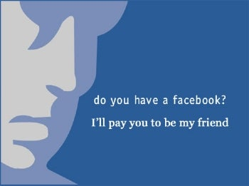 Lonely? Why Not Buy Some Facebook Friends