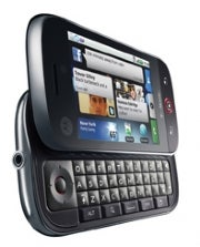 Motorola Cliq phone with Motoblur