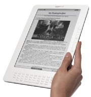Amazon adds apps to Kindle to expand functionality and compete with tablet PC's.