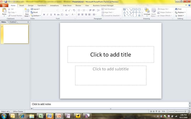 how to get full screen on microsoft powerpoint