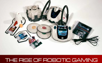 Roboni-I, the Rise of Robotic Gaming?