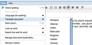 how to get subscripts on google docs